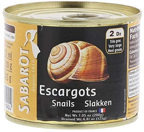 buy tinned snails escargot